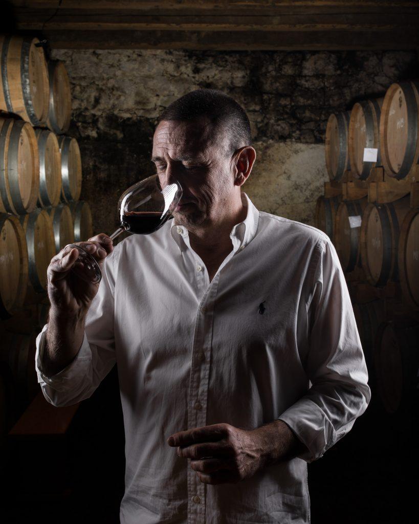 Portrait of a winemker